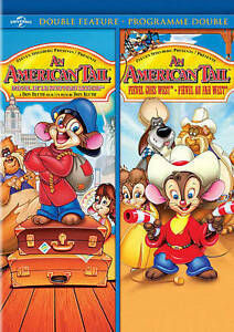 An-American-Tail-2-Movie-Pack-DVD-2014-2-Disc-Set-Canadian-BRAND-NEW-SEALE