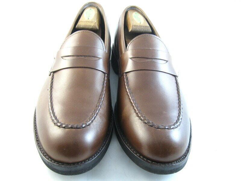 Allen Edmonds  NOMAD  PENNY Loafers 11 D Coffee   (884)
