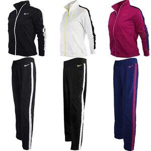 Details zu Nike Polyknit Lady Damen Trainingsanzug Sportanzug Jogginganzug NEU