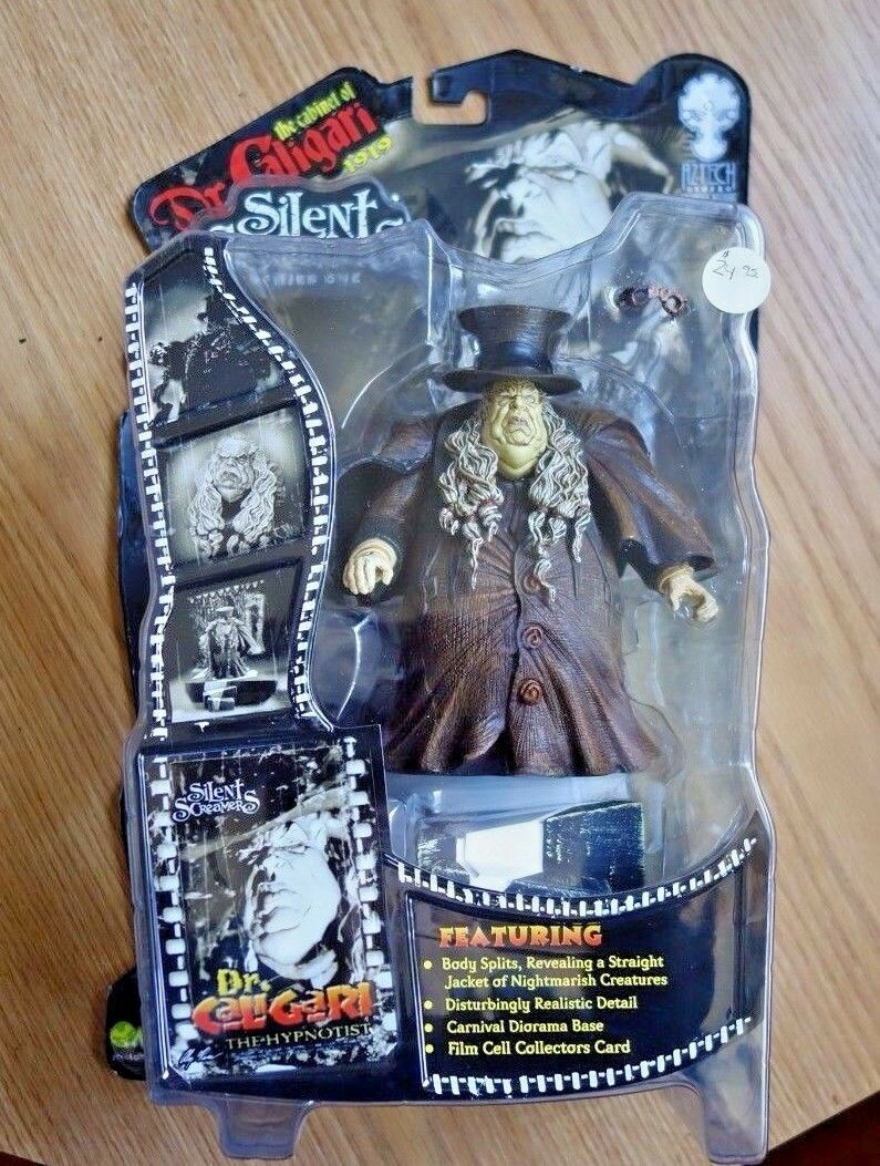 Aztech Toyz Silent Screamers Art Asylum Dr. Caligari the Hypnotist Hypnotist Hypnotist Brown Coat b6a47e
