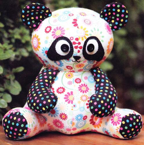 cute panda softie PATTERN from Melly /& Me PATTERN Pookie