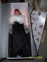Robert Tonner Kitty Collier Midnight Waltz 18vinyl Doll In Ensemble W/stole
