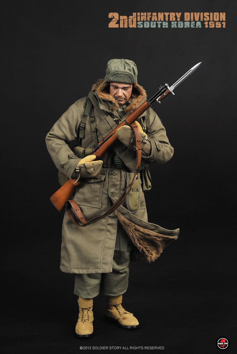 Soldier Story SS069 2nd Infantry Division South Korea 1951 1/6 Scale Figure Toy
