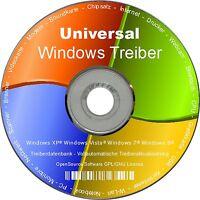 Universal Pc-, Laptop- Und Notebook Treiber Für Windows Xp Vista 7 8 (32/64) Neu