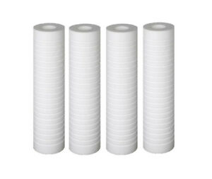 "Replacement 10"" x 2.5"" Grooved Sediment 5 Micron Water Filter Cartridge"