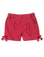Gymboree Polka Dot Ladybug Red Dot Dangle Woven Shorts 4 5