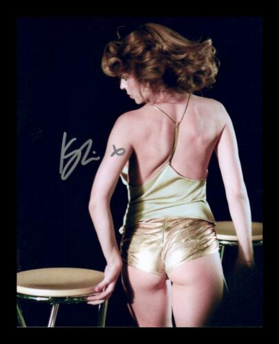 KYLIE MINOGUE AUTOGRAPHED SIGNED /& FRAMED PP POSTER PHOTO