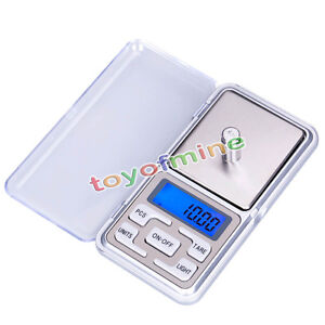 Mini 200g/0.01g Balance Échelle électronique Portable de Précision Bijoux Poids