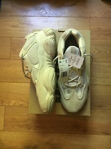more photos 3a754 afb65 Details about Kanye West Yeezy 500 Blush Desert Rat DB2908 Deadstock Size  12 In Hand!