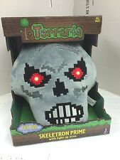 TERRARIA Skeletron Prime Feature Plush Toys (22 cm) with lightup RED eyes-Cool