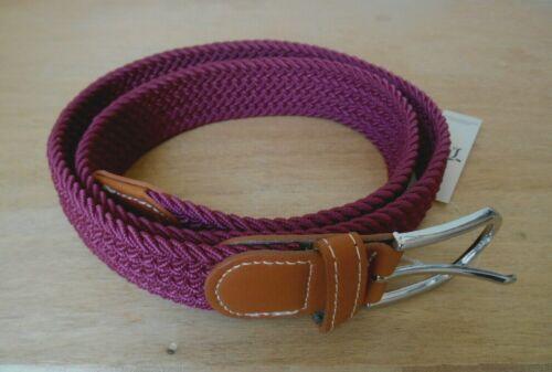 ceinture élastique tressée adulte mixte 2 tailles