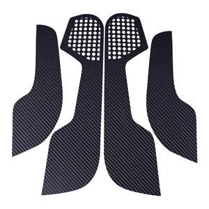 Black 4x Door Anti Kick Pad Trim Cover Protector Film fit for Honda Civic 2016