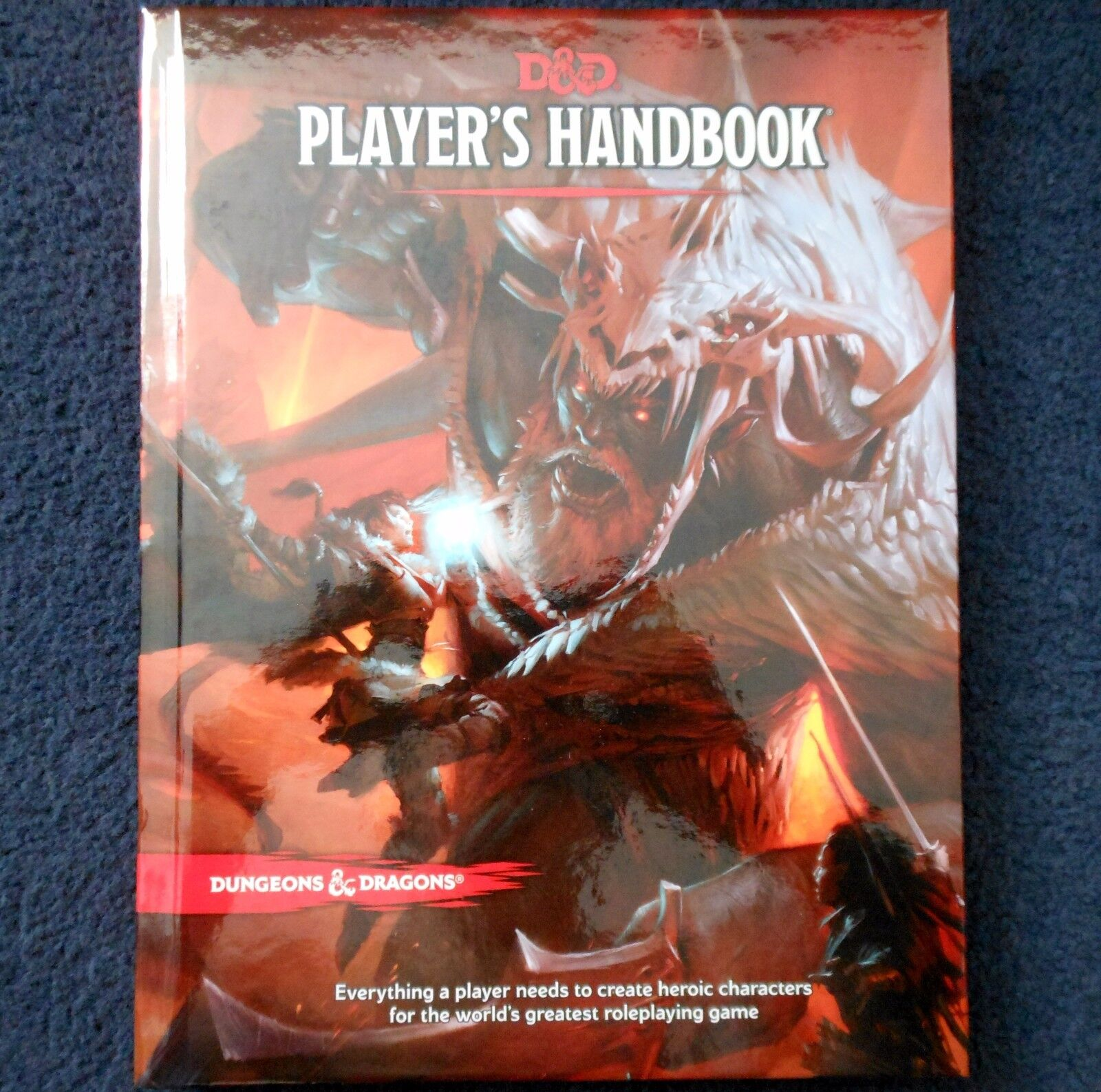 Player's Handbook 5th Edition Advanced Dungeons & Dragons Core Rulebook D&D WotC
