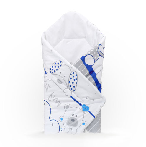 BABY SWADDLE WRAP NEWBORN INFANT BEDDING BLANKET COTTON SLEEPING BAG COTTON WRAP