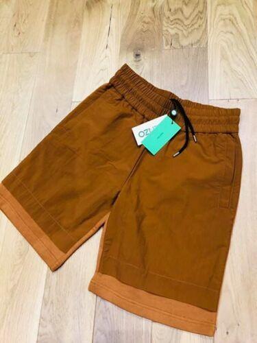 Brand Contrast Taglia W30 New In Shorts Rrp Copper Panel Kenzo Xs £ 185 rUYqrCwv