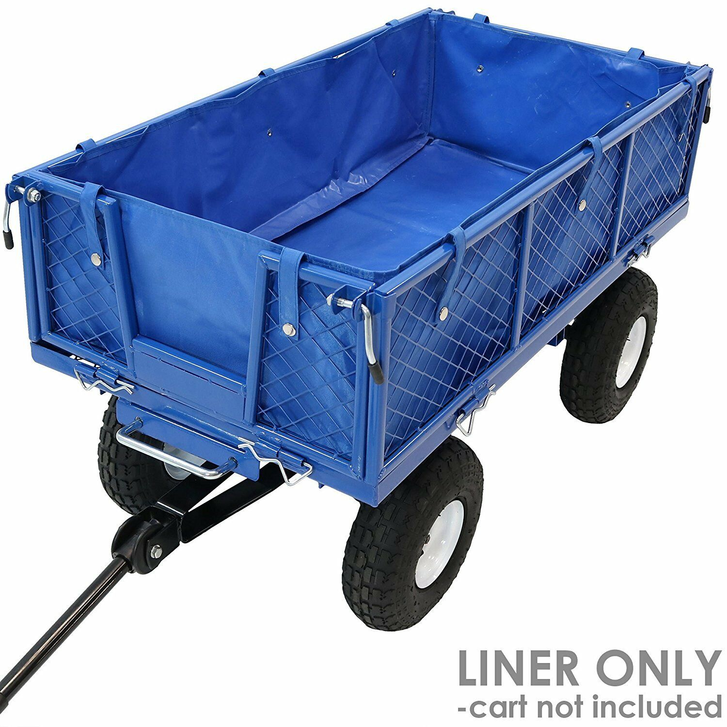 Collapsible Folding Wagon Cart Liner Utility Garden Removabl