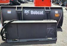 72 Bobcat Snow Plow Skid Steer Loader Quick Attach Bobcat Case John Deere