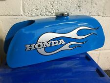 Honda ATC70 73-74 K0, K1, Fibre Glass Fuel Gas Tank Scarlet Red Daytona Orange