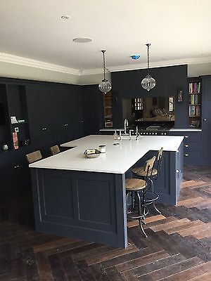 A Louis Stevens Kitchen Hand Painted Kitchen And Island Ebay