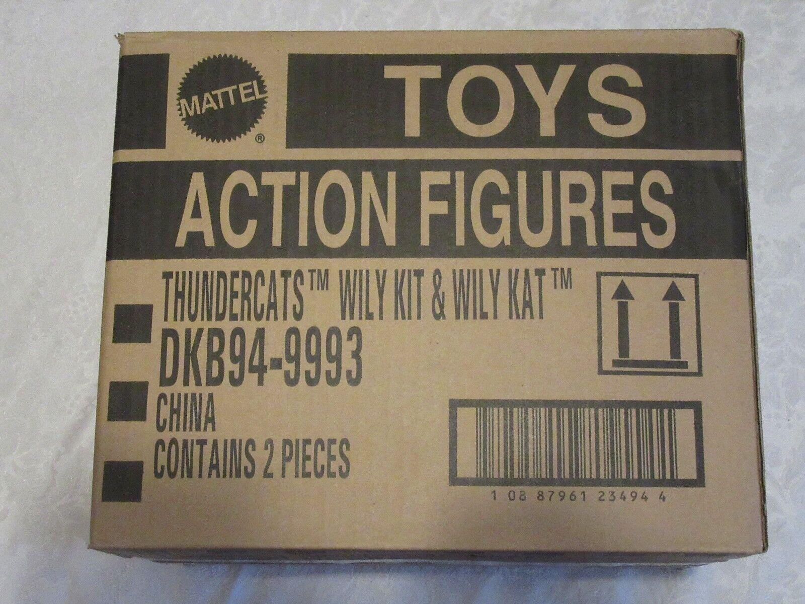 Mattel Thundercats Sealed Case Lot of 2 Wily Kit & & & Kat SDCC Exclusive DKB94-9993 7128f6
