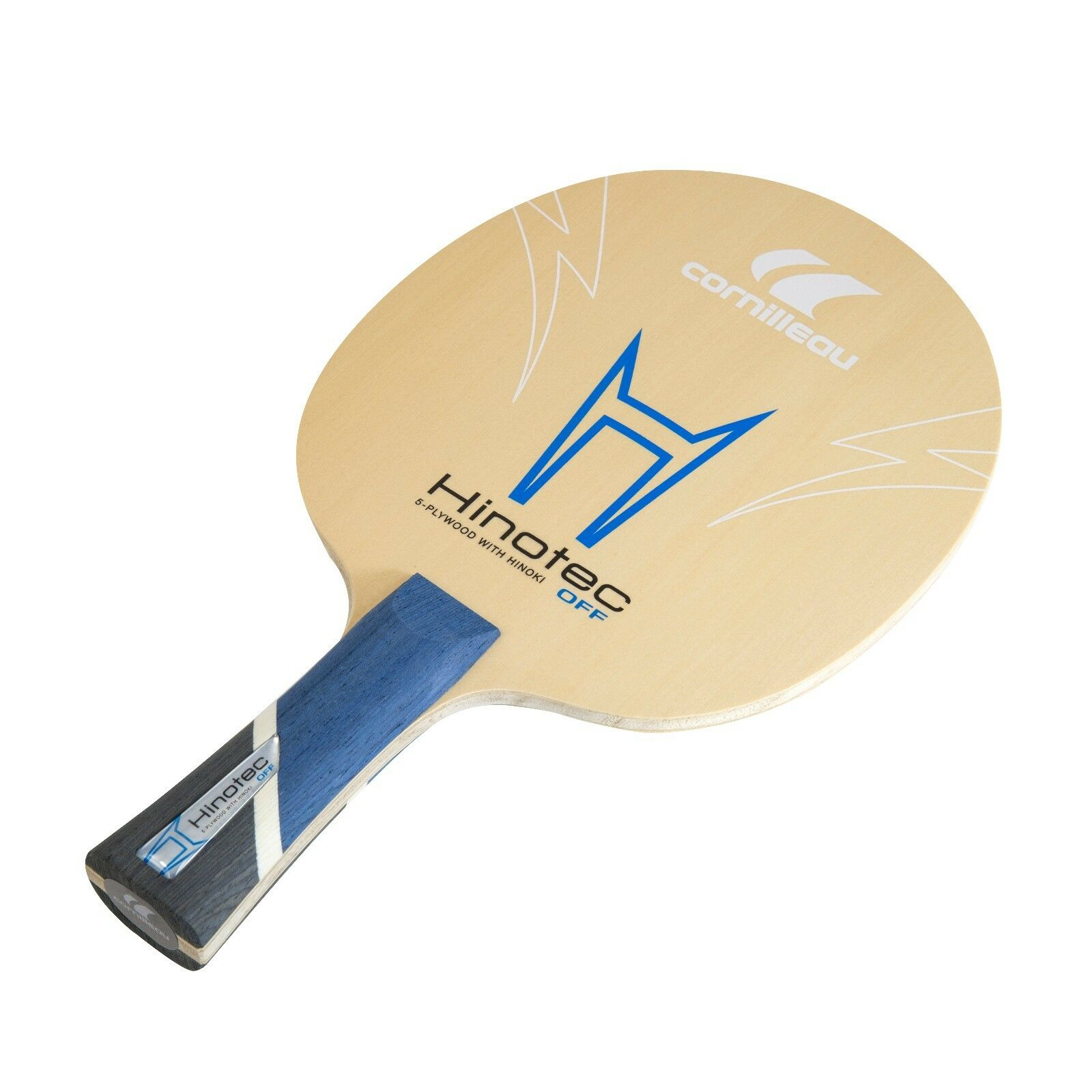 Cornilleau Hinotec Off Table Tennis Blade   Paddle with Flared Handle