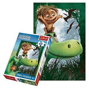 Trefl-60-Stueck-Kinder-Unisex-Disney-Pixar-Arlo-amp-SPOT-DINO-FREUNDE-Puzzlespiel