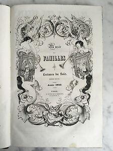 Musée Delle Famiglie Lettura Del Sera / Volume 1842-1843