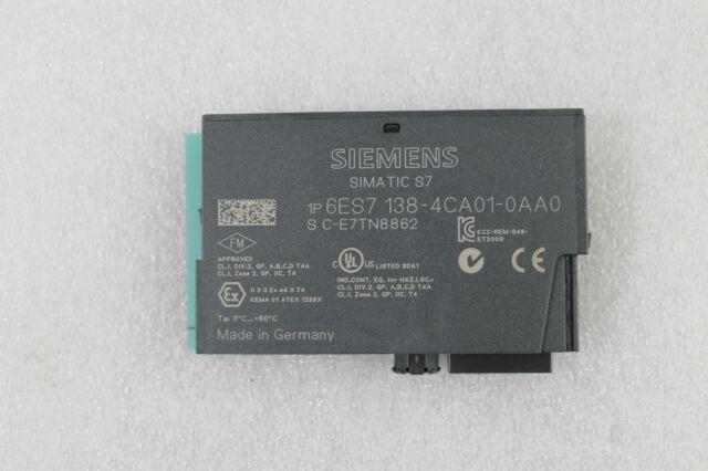 Siemens Simatic ET 200S  6ES7 138-4CA01-0AA0 NEU /& OVP