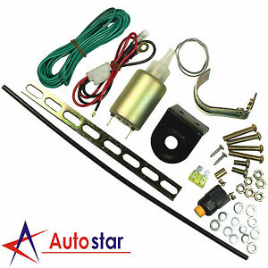 Universal Electric Truck Open Kit Hatch Power Car Alarms Trunk Release Solenoid
