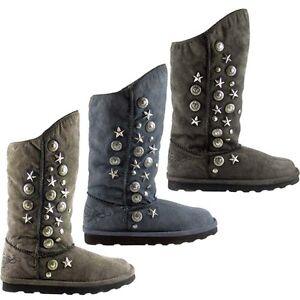 replay damen coole hohe winter yeti boots schuhe stiefel stiefeletten neu ebay. Black Bedroom Furniture Sets. Home Design Ideas