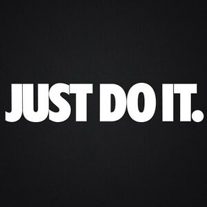 Nike Just Do It Car Vehicle Wall Kitchen Vinyl Stickers