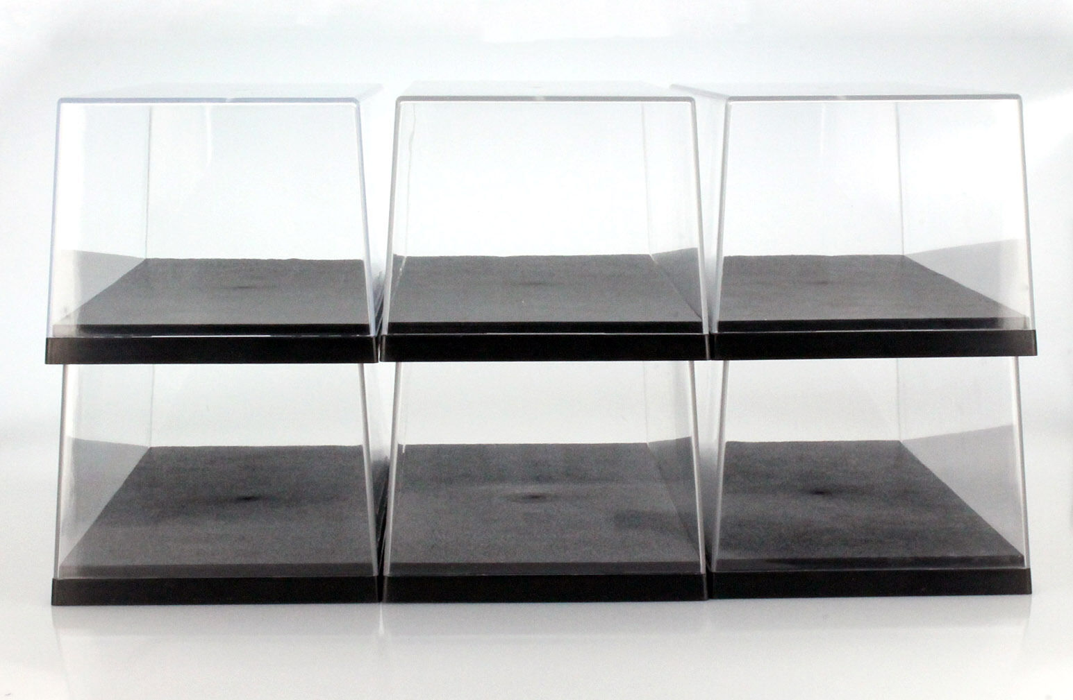 6 Carton Triple9 Acrylic Display Cases for Model Cars on a Scale of 1