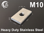 Eye bolt tie down kit for T /& C Rhino Thule Yakima Pro Rola roof rack M10X2