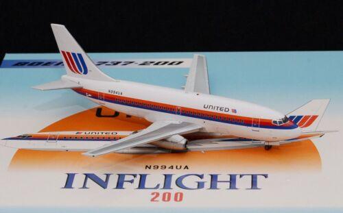 Inflight 200 If732ua0818 1/200 United Airlines Boeing 737-200 N994ua Spielzeugautos