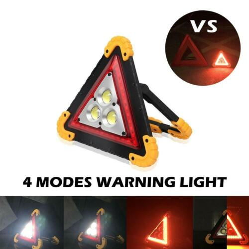 LED Light Car Warning Triangle Emergency Lamp Safety Flashing Sign Road fast shi