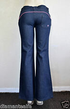 Billabong Women's Non-Stretch Flare Leg Jeans – Indigo Wash sz 8