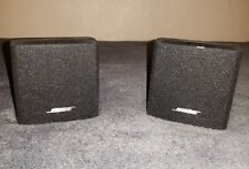 2 Bose Single Cube Speakers for Lifestyle Acoustimass 6/8/9/10/15/18/25/28