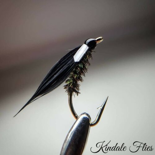 Wicked white Cormorant Flies Size 16 (Set of 3) Fly Fishing Flies Fry