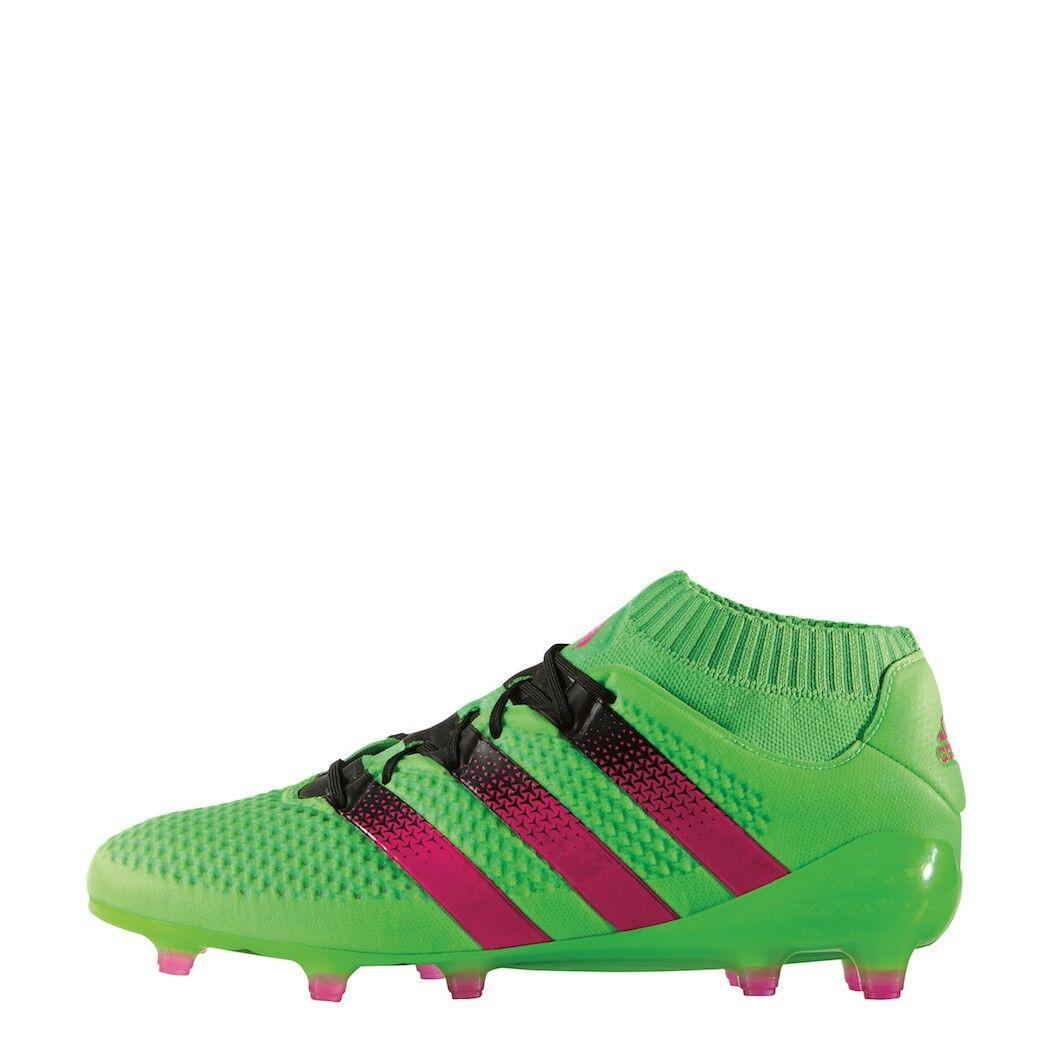 Adidas Ace 16+ primeknit FG ag Limited Edition botas de fútbol verde [aq5151]