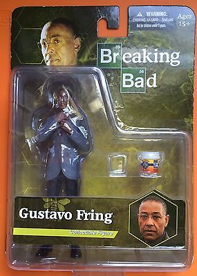 "6/"" Mezco Toyz Breaking Bad Gus Fring Figure"