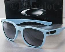 NEW OAKLEY GARAGE ROCK SUNGLASSES Blue frame / Grey lens MSRP $120