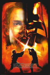 Star Wars Episode Iii Revenge Of The Sith Movie Poster Anakin Darth Vader Ebay