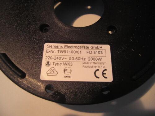 Siemens Wasserkocher Porsche Design TW91100 Unterer Gehäusedeckel