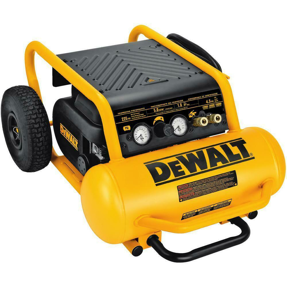 DeWALT D55146 4.5 Gallon 200 PSI Portable Emglo Air Tool Compressor. Buy it now for 369.00