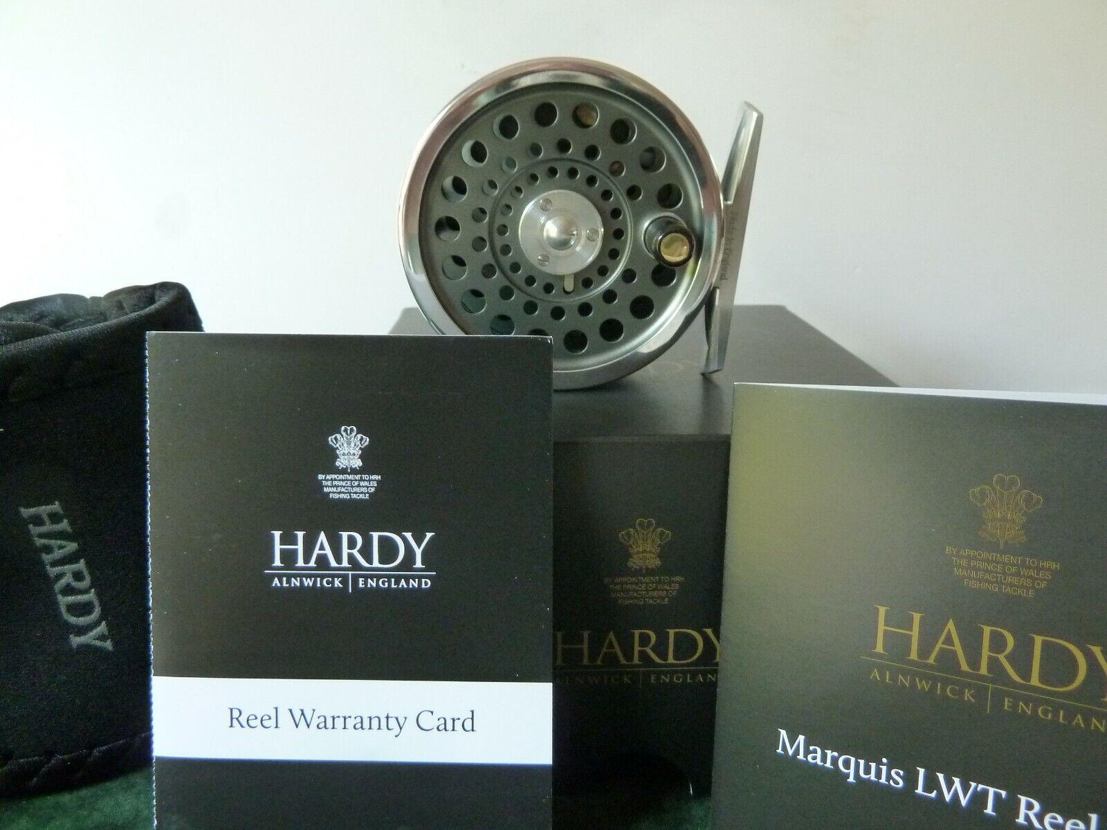 Hardy Marqués LWT 4 Cocherete de pesca con mosca