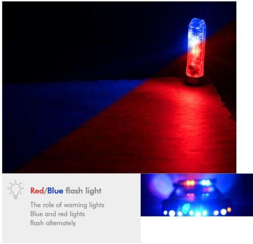 Rovyvon DEL A8x Mini Rechargeable Lampe De Poche Rouge Ambre Jaune Côté Lumière 650 lm