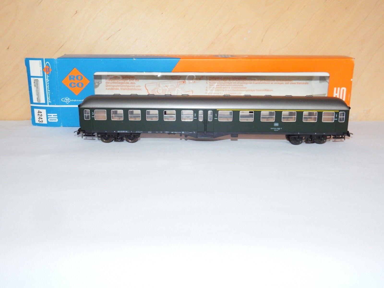 H0 roco 4243 1 personenwaggon 1 4243   2 klasse db ovp 7899 7b0796