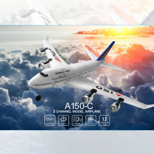 Wltoys XKS A150-C RC Airplane EPP Glider 2.4Ghz 2CH Remote control Aircraft A5G1