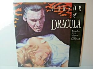 Horror of Dracula - 1958 - Laserdisc - Christopher Lee ...