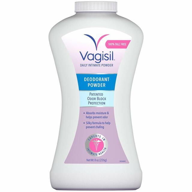 Vagisil Odor Block Deodorant Powder, Talc-Free, 8 Ounce